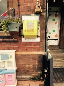 Defibrillator installed at Meaford Day Nursery